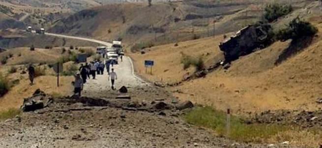 Siir'te bombalı tuzak: 8 şehit