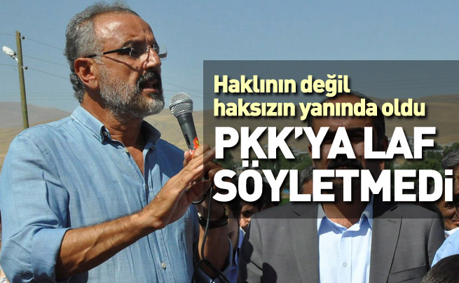 Sırrı Sakık PKK'ya laf söyletmedi!