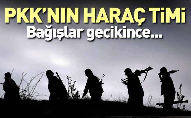 PKK'nın haraç timi: Amediler