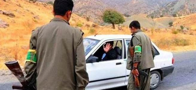 PKK'lılar kaçmaya çalışan araca ateş açtı