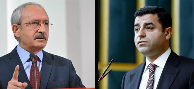 PKK'yı değil Erdoğan'ı kınadılar