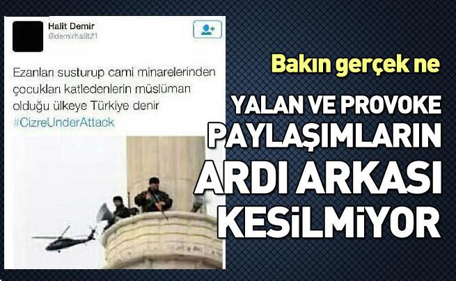 PKK'lıların yalanlarını ortaya çıkarmanın yolu
