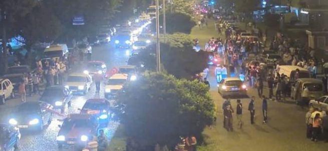 İzmir'deki protesto yürüyüşünde PKK provokasyonu