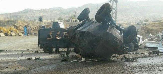 2 polisi şehit eden teröristler öldürüldü