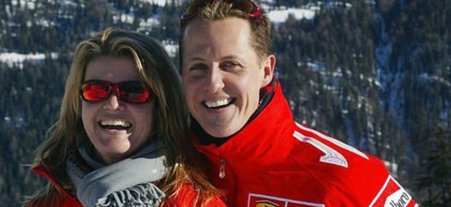 Michael Schumacher 45 kiloya düştü
