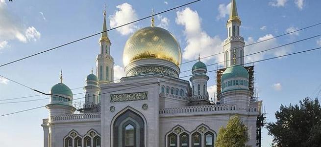Moskova Camii açıldı