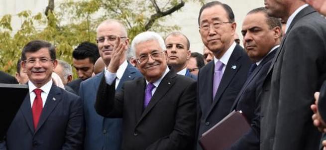 Abbas: Bugün Filistin için gurur günü