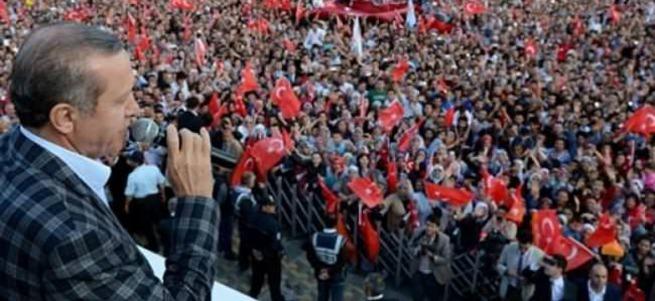 """Erdoğan """"Teröre Karşı Milli Birlik"""" mitingine katılıyor"""