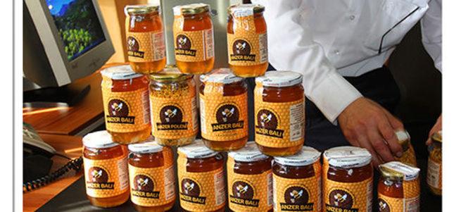 Rize İkizdere'de anzer balı üretiminde rekor kırıldı
