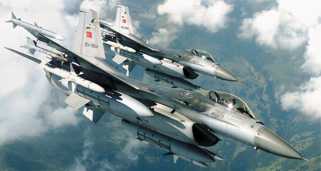 TSK açıkladı: F-16'lar taciz edildi