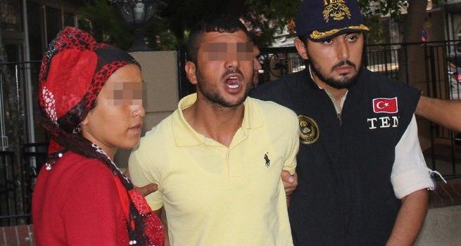 Adana'da teröristin ailesi gazetecilere saldırdı