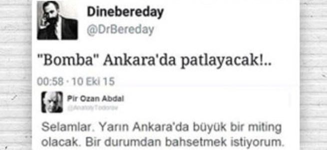 Twitter Ankara saldırısını duyuranların bilgisini vermedi