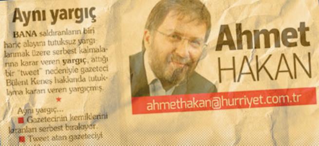 Ahmet Hakan fena çuvalladı
