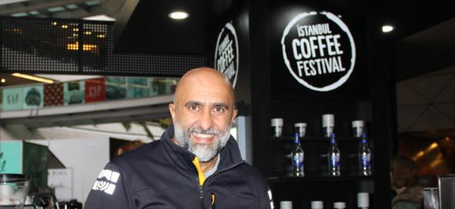 Şehirde kahve kokusu