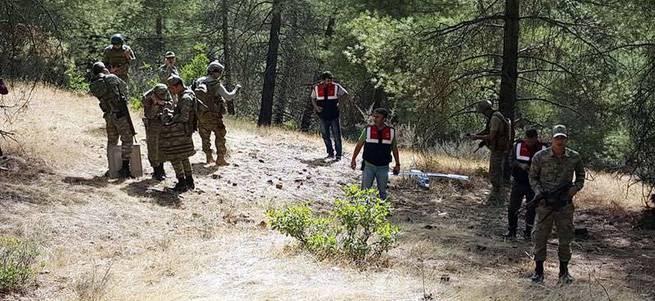 TSK Suriye sınırında İHA düşürdü
