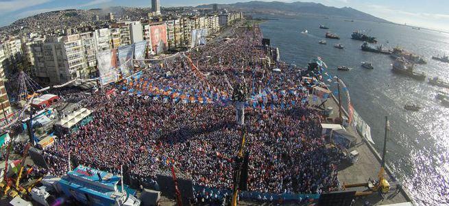 Başbakan Davutoğlu'nun İzmir konuşması