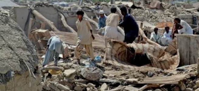 Afganistan'da 7,6 büyüklüğünde deprem