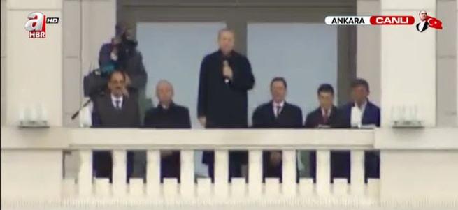 Cumhurbaşkanı Erdoğan Külliye'den halka sesleniyor!