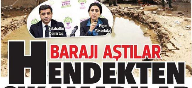 Hürriyet Demirtaş'ı parlatmaya son verdi