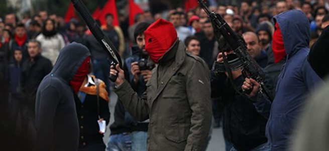 DHKP-C'li 2 terörist Gaziantep'te okul bastı