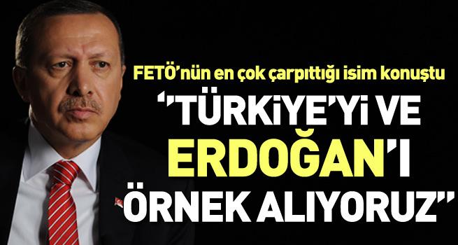 Gannuşi: Erdoğan'ı örnek alıyoruz