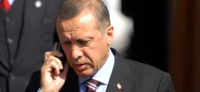 Cumhurbaşkanı Erdoğan, Hollande ile görüştü