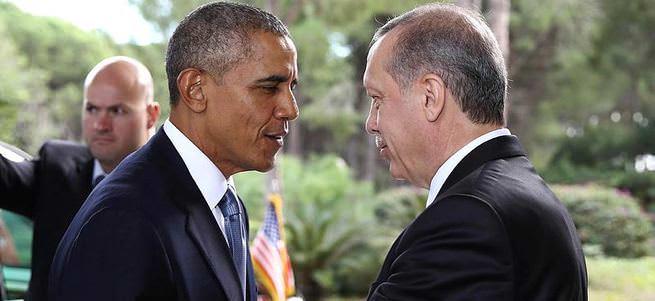 Erdoğan-Obama görüşmesi sona erdi