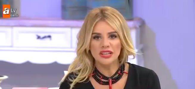 Esra Erol depreme canlı yayında yakalandı