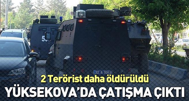 Yüksekova'daki terör operasyonunda 2 terörist öldürüldü