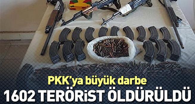 Terör örgütlerine yönelik operasyonların 4 aylık bilançosu