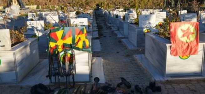 PKK'nın sözde şehitliği imha edildi
