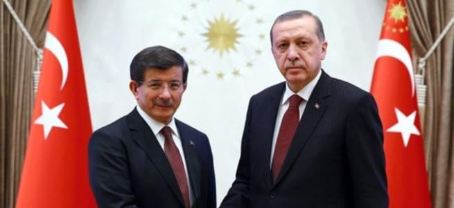 Erdoğan - Davutoğlu görüşmesi başladı