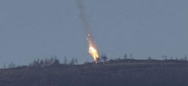 Yaralı Rus pilot Rus hava üssüne götürüldü