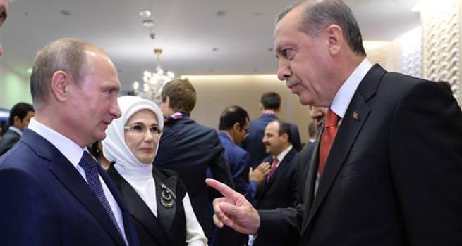 Putin'den Erdoğan'a özür
