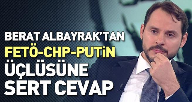 Berat Albayrak'tan FETÖ-Putin-CHP üçlüsüne sert cevap