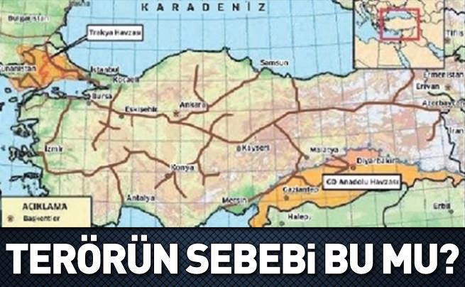 Terörün hedefi Türkiye'nin enerji zenginliği