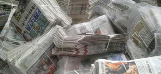 Zaman Gazetesi'nin hurda deposu deşifre oldu!