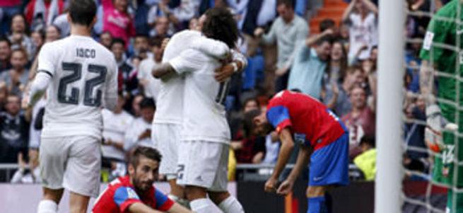 Real Madrid'ten tarihi galibiyet