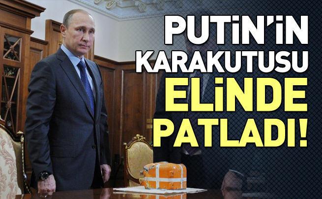 Putin'in kara kutusu elinde kaldı