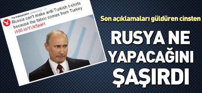 Rusya'da Türkiye karşıtı tişört imalatı durdu