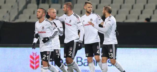 Beşiktaş, Türkiye Kupası'na 3 puanla başladı
