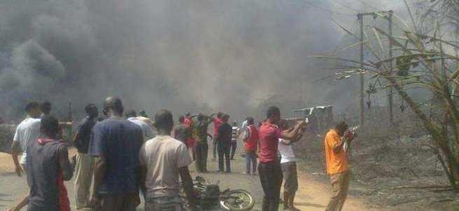 Tüp kuyruğunda bütan gazı patlaması: 102 ölü
