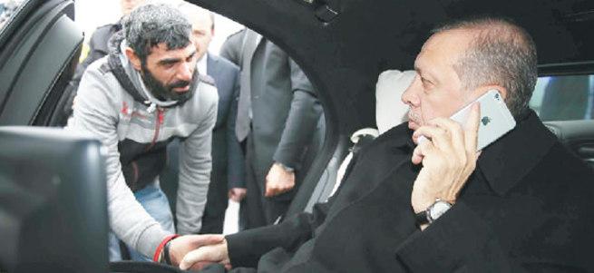 Erdoğan intihar etmek isteyen vatandaşı nasıl ikna etti?