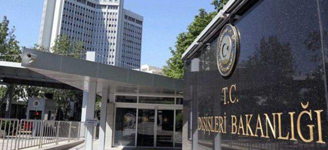 Dışişleri: Türk çalışanlara saldırı düzenlendi