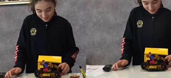 Küçük Mucit Dora'dan Hava Kirliliğini Önleyip Elektrik Üreten İcat