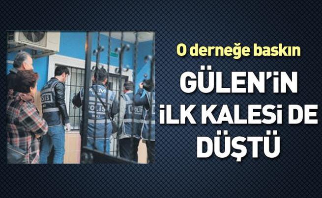 İzmir'de, Gülen'in ilk derneğine baskın...