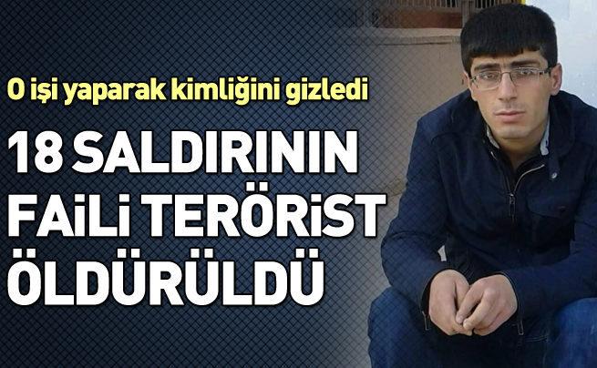 18 saldırının faili terörist öldürüldü