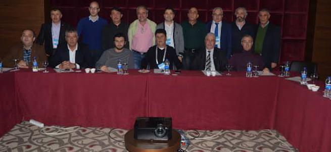 5. Masa Tenisi çalıştayı Antalya'da yapıldı