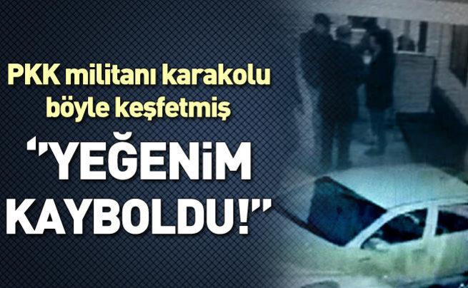 PKK'lı saldırgan Polis Merkezi'nde böyle keşif yapmış!