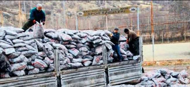 Yoksullara kömür yardımı